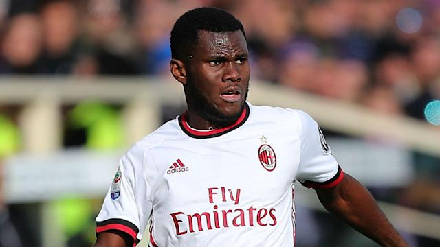 AC Milan had to come from behind as Franck Kessie's brace sank lowly Cagliari in Serie A on Sunday.