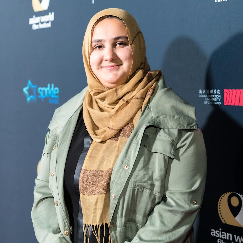 CULVER CITY, CALIFORNIA - NOVEMBER 06: Red Cross Courage to Dream award recipient Lena Khan attends the Opening Night of the 5th Annual Asian World Film Festival on November 06, 2019 in Culver City, California. (Photo by Greg Doherty/Getty Images for Asian World Film Festival )