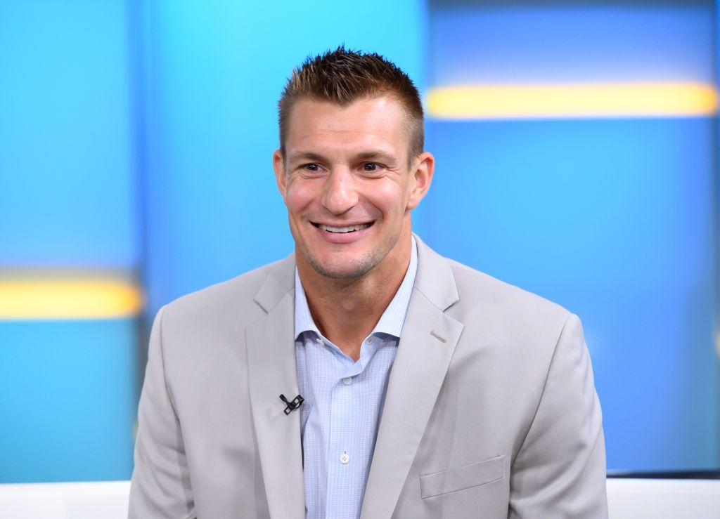 """<p><a href=""""https://www.menshealth.com/weight-loss/a28245216/rob-gronkowski-weight-loss-nfl-retirement/"""" target=""""_blank"""">Gronk</a> retired from the NFL earlier this year, and he's already lost a staggering amount of weight. While details on his weight loss are currently unknown, Gronk shocked fans when he showed up to the premiere of Showtime's <em>100 Percent: Julian Edelman </em> looking noticeably slimmer, and without his signature muscles. However, it's totally normal for professional football players to lose weight after retiring and laying off their intense training and <a href=""""https://www.menshealth.com/nutrition/a19535249/tom-brady-reveals-insane-diet-in-new-book/"""" target=""""_blank"""">diets</a>. </p>"""