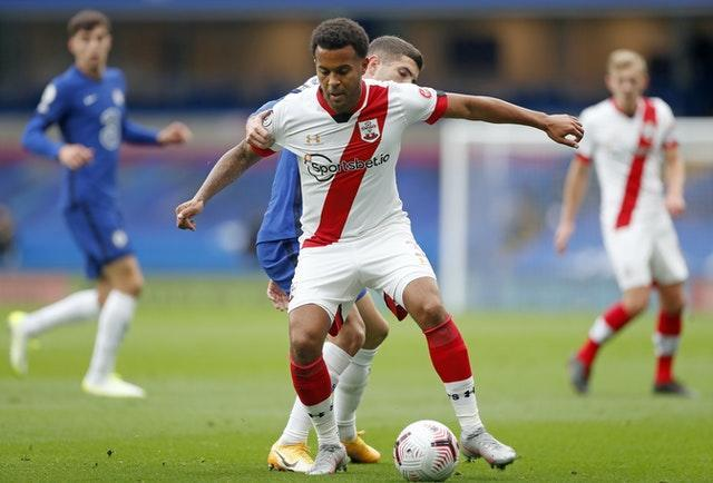Ryan Bertrand could also be missing for the Saints on Friday with a hamstring issue