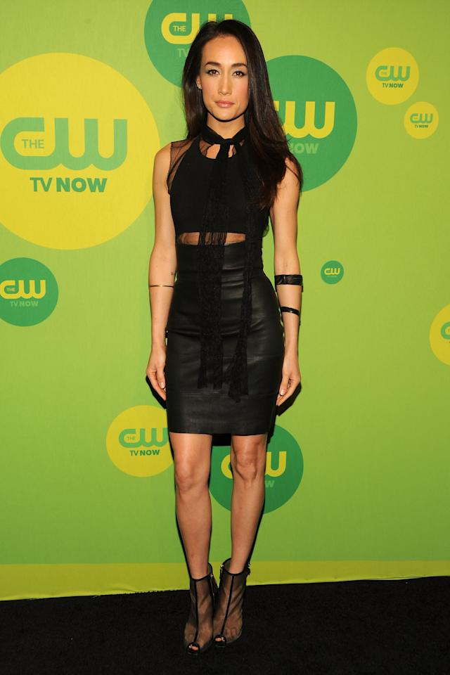 NEW YORK, NY - MAY 16:  Actress Maggie Q attends The CW Network's New York 2013 Upfront Presentation at The London Hotel on May 16, 2013 in New York City.  (Photo by Ben Gabbe/Getty Images)