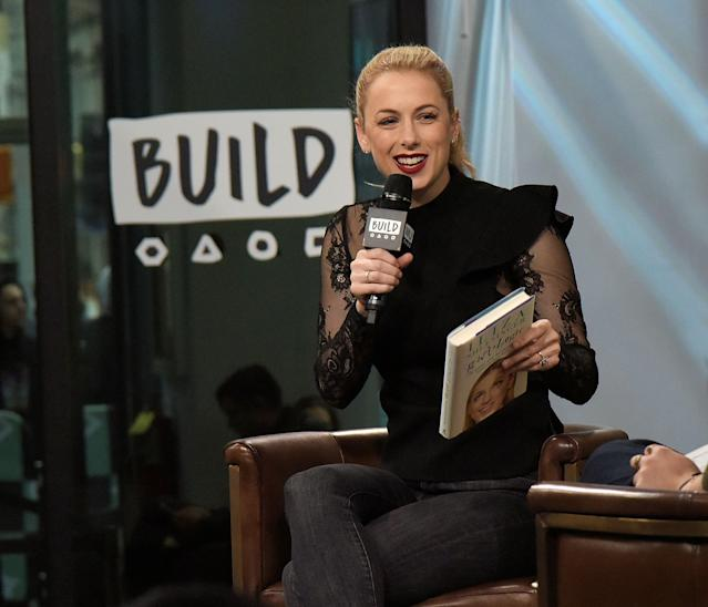 Iliza Shlesinger on stage at BUILD. [Photo: Getty Images]
