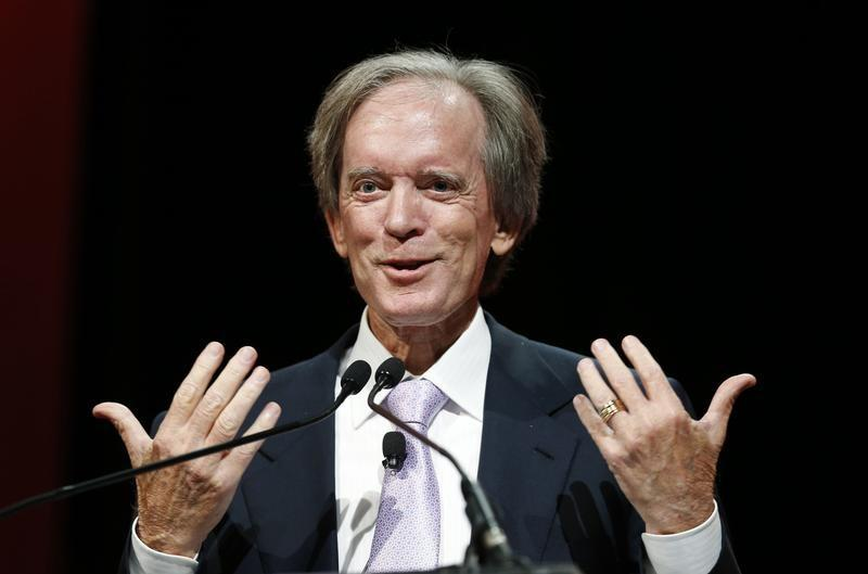 FILE PHOTO: Bill Gross speaks at the Morningstar Investment Conference in Chicago