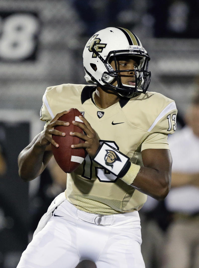 No. 17 UCF has loftier goals against rival USF