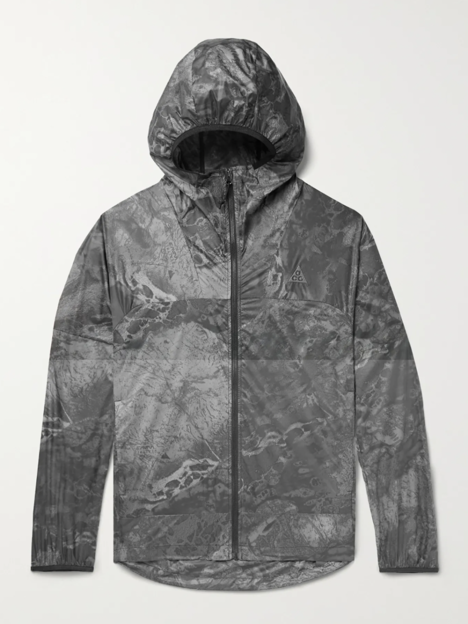 """<p><strong>NIKE ACG </strong></p><p>mrporter.com</p><p><strong>$140.00</strong></p><p><a href=""""https://go.redirectingat.com?id=74968X1596630&url=https%3A%2F%2Fwww.mrporter.com%2Fen-us%2Fmens%2Fproduct%2Fnike%2Fclothing%2Flightweight-waterproof-jackets%2Fnrg-acg-cinder-cone-printed-recycled-nylon-jacket%2F13452677152576728&sref=https%3A%2F%2Fwww.esquire.com%2Fstyle%2Fadvice%2Fg2995%2Fbest-fall-coats-jackets%2F"""" rel=""""nofollow noopener"""" target=""""_blank"""" data-ylk=""""slk:Shop Now"""" class=""""link rapid-noclick-resp"""">Shop Now</a></p><p><a href=""""https://www.esquire.com/style/mens-fashion/g37080317/best-techwear-pants/"""" rel=""""nofollow noopener"""" target=""""_blank"""" data-ylk=""""slk:Techwear enthusiasts"""" class=""""link rapid-noclick-resp"""">Techwear enthusiasts</a> will get the appeal of this recycled nylon jacket from Nike ACG. </p>"""