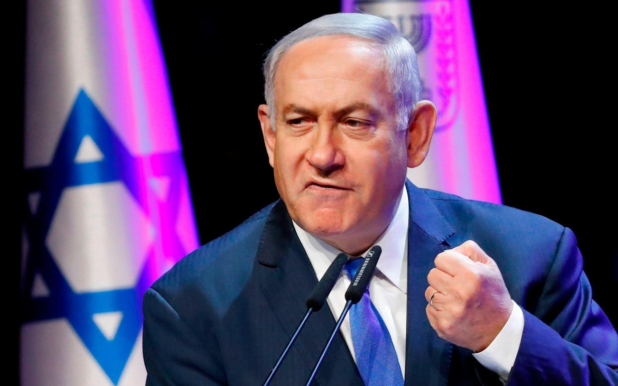 Mr Netanyahu is on course to become Israel's longest-serving prime minister - AFP