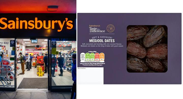 Sainsbury's has recalled its Taste the Difference Medjool dates over concerns they were tainted. (Getty Images)