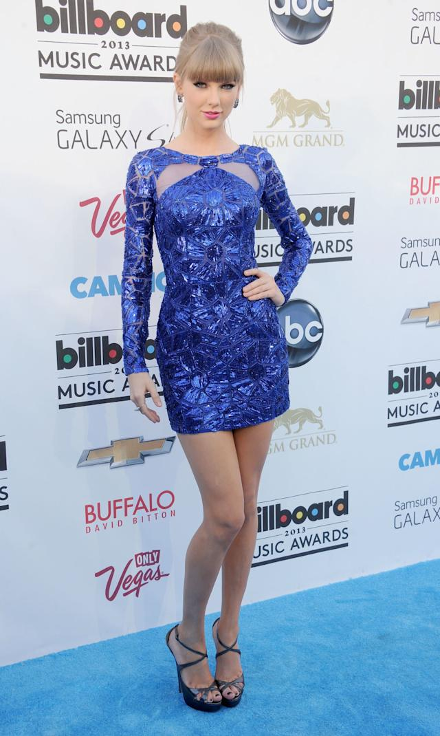 At the 2013 Billboard Music Awards on May 19, 2013, in Las Vegas.