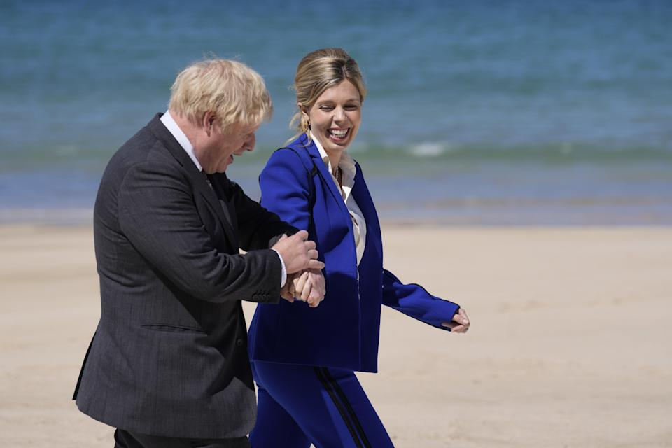 Prime Minister Boris Johnson and his wife Carrie have announced they are expecting a second child (Kirsty Wigglesworth/PA) (PA Wire)