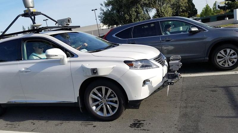 First photos of Apple's self-driving test vehicle surface online