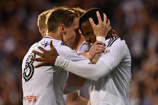 Fulham are going to Wembley! Championship play-off final awaits as Ryan Sessegnon, Denis Odoi earn 2-0 Craven Cottage win over Derby County