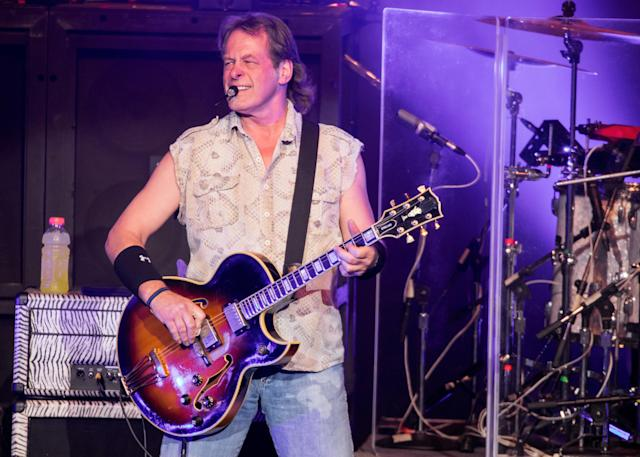 Ted Nugent performs in Michigan last August. (Photo: Scott Legato/Getty Images)