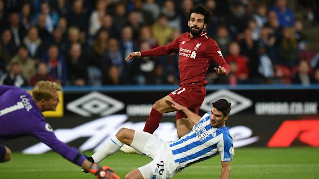 The Egyptian was back on target during a Premier League clash with Huddersfield and has now managed 50 efforts across spells at Chelsea and Anfield
