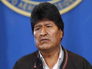 Bolivia's interim president asks Congress to approve law calling for fresh elections following unrest in country after Evo Morales' resignation