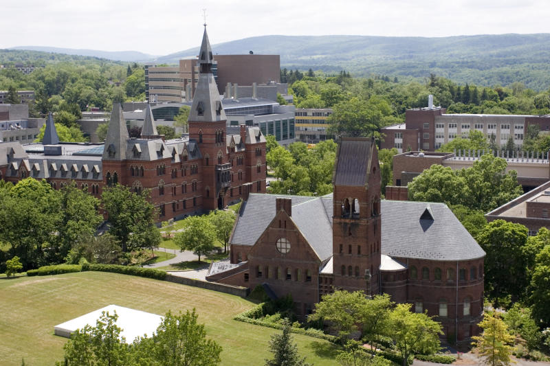 The alleged assault was the second racially charged incident to roil Cornell Universityin less thantwo weeks. (Getty Images)