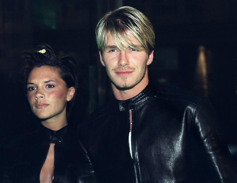 Victoria and David Beckham in 1999 (Getty Images)