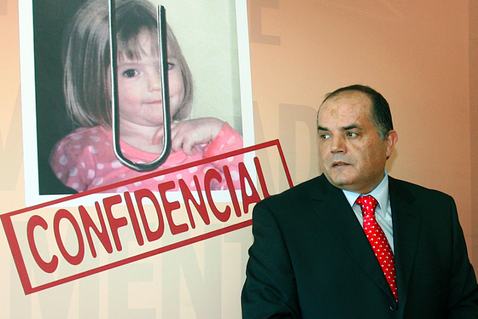 <em>Former police chief Goncalo Amaral, who has claimed Maddie's parents faked her kidnap, features in the film (Getty)</em>