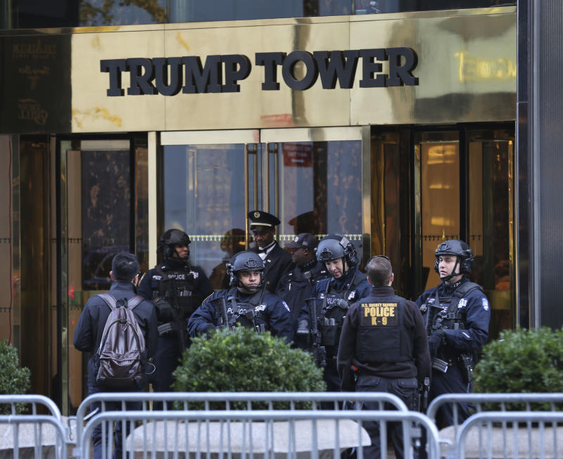 Image result for Secret Service budget asks for $25M to protect Trump Tower