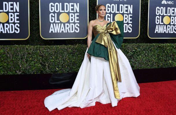 PHOTO: Jennifer Lopez arrives for the 77th annual Golden Globe Awards on Jan. 5, 2020, in Beverly Hills, Calif. (Valerie Macon/AFP via Getty Images)