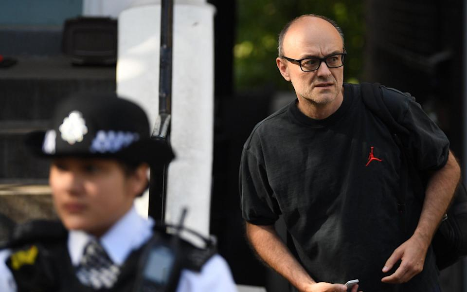 Dominic Cummings departs home in London, United Kingdom - 28 May 2020 - Neil Hall/Shutterstock