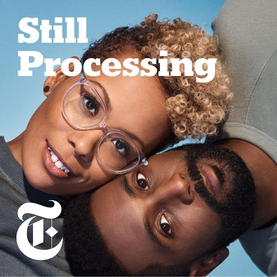 """<p>Two of the most soothing voices you'll ever hear belong to New York Times' writers Wesley Morris (@wsslyy) and Jenna Wortham (@jennydeluxe). I rely on their episodes to dissect trending news as well as niche culture topics that no one will fight with me about on Twitter. You know, like <a href=""""https://www.nytimes.com/2020/04/02/podcasts/high-fidelity-zoe-kravitz.html"""" rel=""""nofollow noopener"""" target=""""_blank"""" data-ylk=""""slk:their episode about Hulu's High Fidelity"""" class=""""link rapid-noclick-resp"""">their episode about Hulu's <em>High Fidelity</em></a> when they discussed """"The Smiths"""" and you finally felt understood.</p><p><a class=""""link rapid-noclick-resp"""" href=""""https://podcasts.apple.com/us/podcast/id1151436460"""" rel=""""nofollow noopener"""" target=""""_blank"""" data-ylk=""""slk:LISTEN NOW"""">LISTEN NOW </a></p><p>•••</p><p><em>For more stories like this, including celebrity news, beauty and fashion advice, savvy political commentary, and fascinating features, sign up for the </em>Marie Claire n<em>ewsletter.</em></p><p><a class=""""link rapid-noclick-resp"""" href=""""https://link.marieclaire.com/join/3oa/mar-newsletter?authId=F0CC0C27-80DA-4734-ABDF-E4115B84A56B&maj=WNL&min=ARTICLES"""" rel=""""nofollow noopener"""" target=""""_blank"""" data-ylk=""""slk:subscribe here""""><strong>subscribe here</strong></a></p>"""