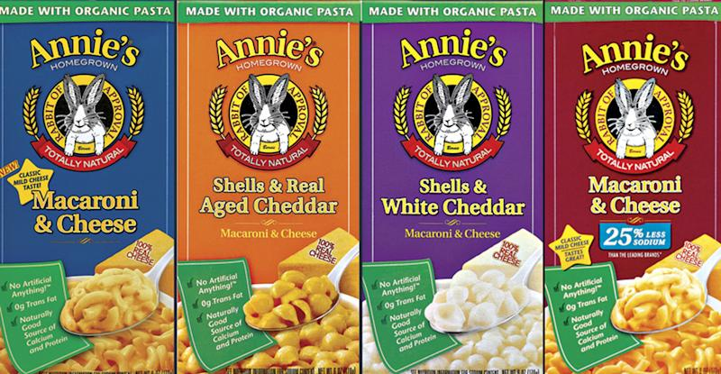 Organic pasta maker Annie's shares soar in debut