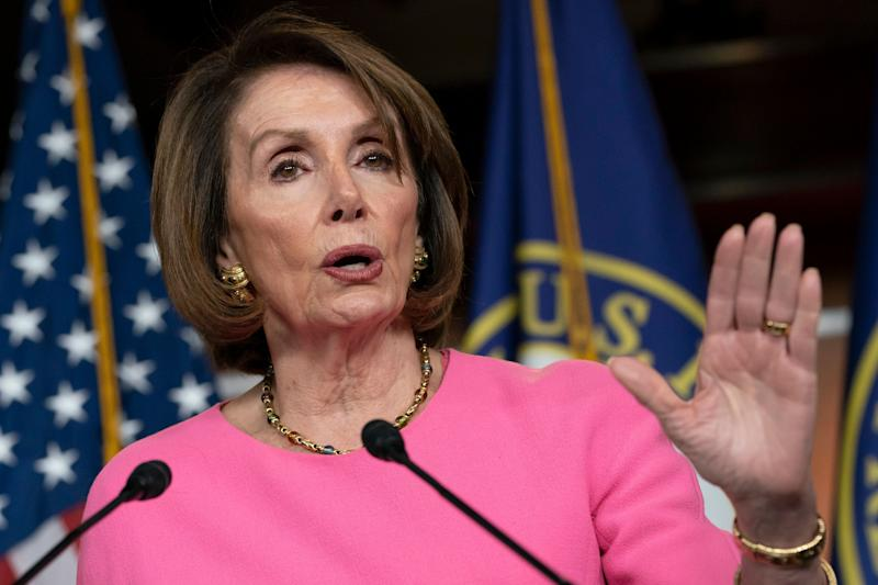 House Speaker Nancy Pelosi (D-Calif.) argues that it is not yet the time for Congress to launch an impeachment inquiry into President Donald Trump. (Photo: ASSOCIATED PRESS)