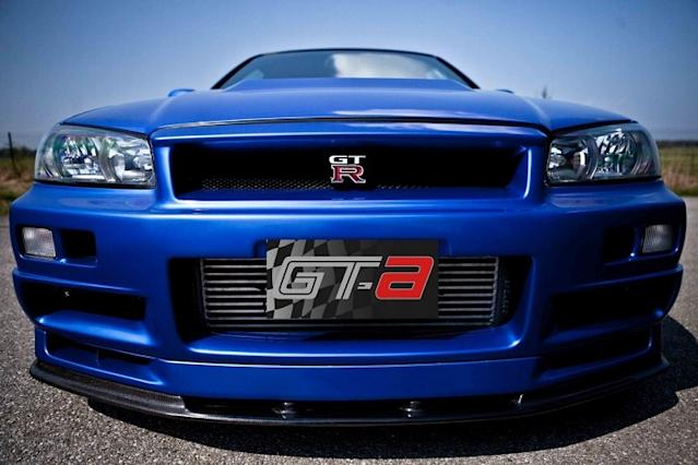 Paul Walkers Fast And Furious 4 Nissan Skyline Gt R Is For Sale
