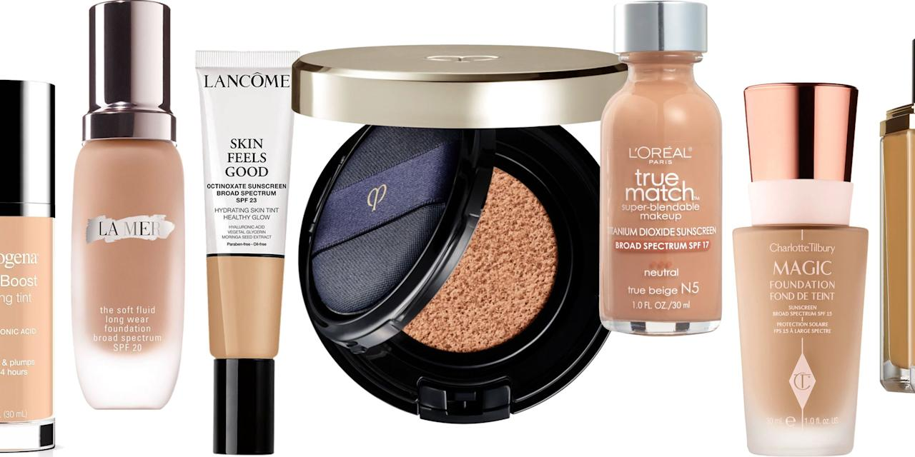"""<p>Older skin requires a fresh take on foundation. No matter the coverage, a good anti-aging foundation needs to hydrate, plump, and make skin look glowy without settling in creases or fine lines. If it also happens to double as a skincare product, then that's just an added bonus. Ahead, the 11 best liquid foundations for all mature skin types, textures, and tones. Plus, see our debut list of <a href=""""https://www.harpersbazaar.com/beauty/skin-care/a26412880/anti-aging-awards/"""" target=""""_blank"""">the best anti-aging products money can buy. </a></p>"""