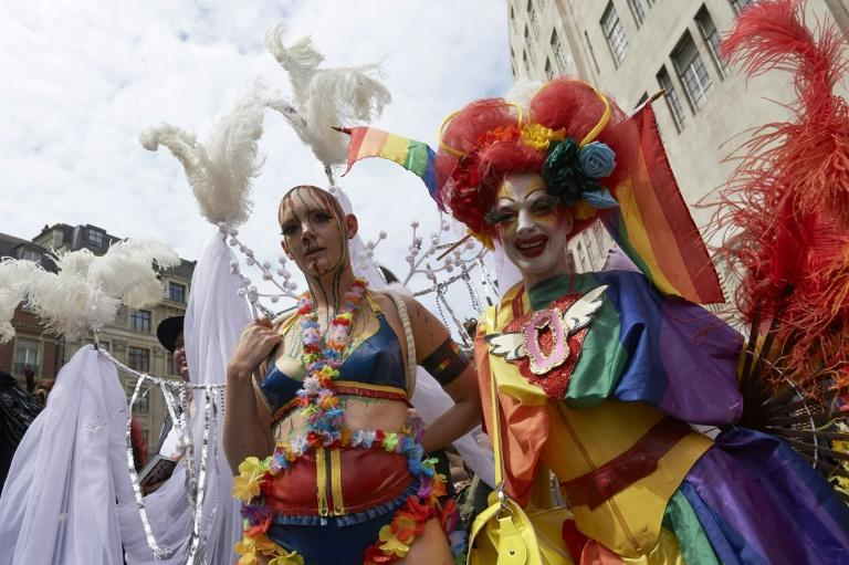 Saturday's gay Pride march is the biggest so far, with other 1.5 million revellers expected