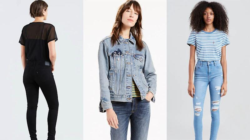 Get fall-ready with this sale happening at Levi's right now.