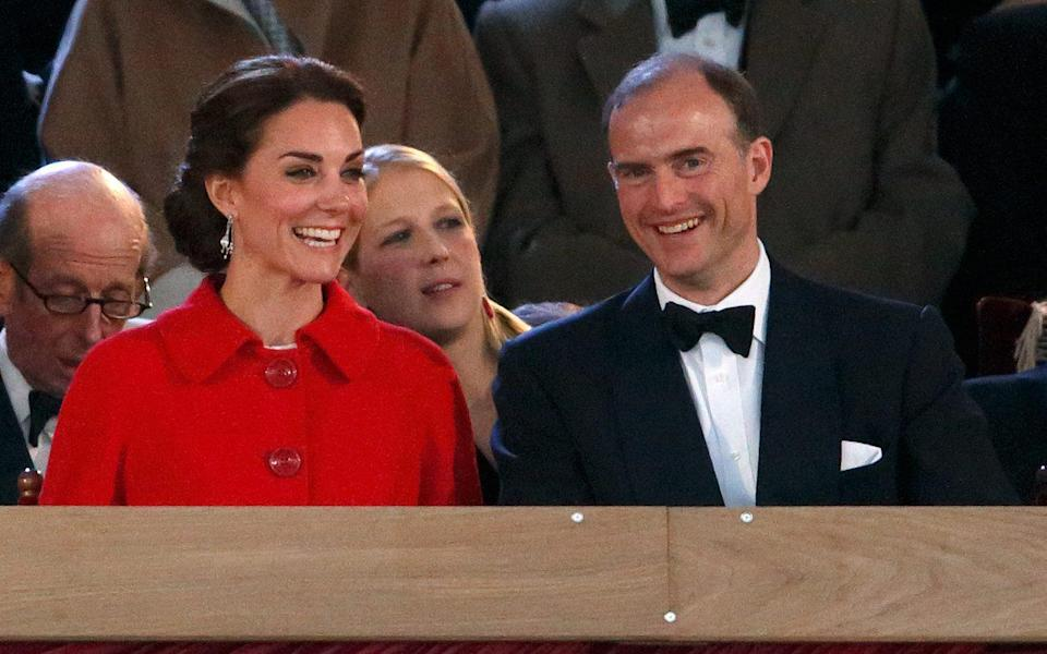 The Duchess of Cambridge with Prince Donatus, Landgrave of Hesse - Getty Images