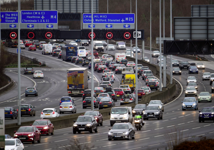 The M25 has eight of the busiest variable speed camera sites (Rex)