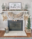 "<p>Here's a creative idea we haven't seen before: Turn old book pages or newspaper pages into a unique textured garland for your Christmas mantel. Bonus points for using text related to the holiday, like Christmas carol sheet music. </p><p><em>See more at <a href=""https://www.instagram.com/p/B6dgwK0HUr6/"" rel=""nofollow noopener"" target=""_blank"" data-ylk=""slk:grace.and.pearls"" class=""link rapid-noclick-resp"">grace.and.pearls</a>.</em></p>"