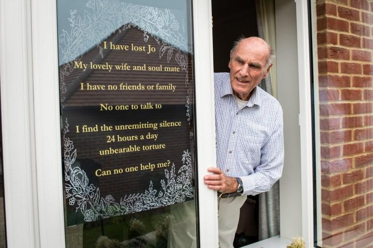 Widower Tony Williams has been inundated with wellwishes after putting out an appeal for friends to cure his loneliness (swns)
