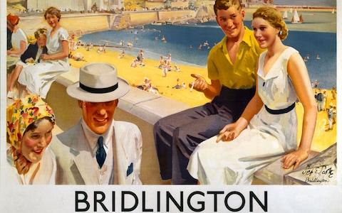 Bridlington poster - Credit: SSPL/NRM/Pictorial Collection/Science & Society Picture Library