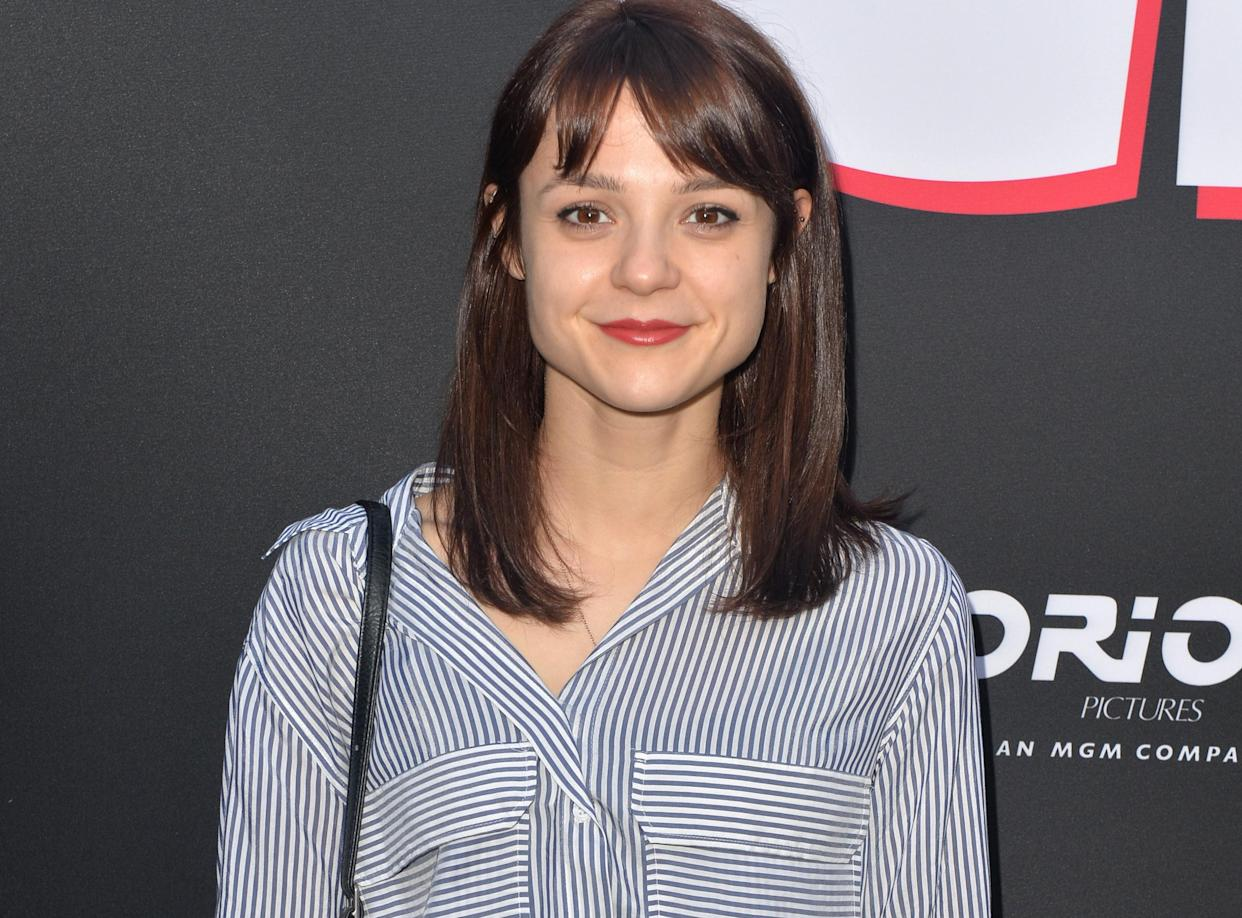 Kathryn Prescott, pictured in 2019, has been living and working in the US. (Getty Images)