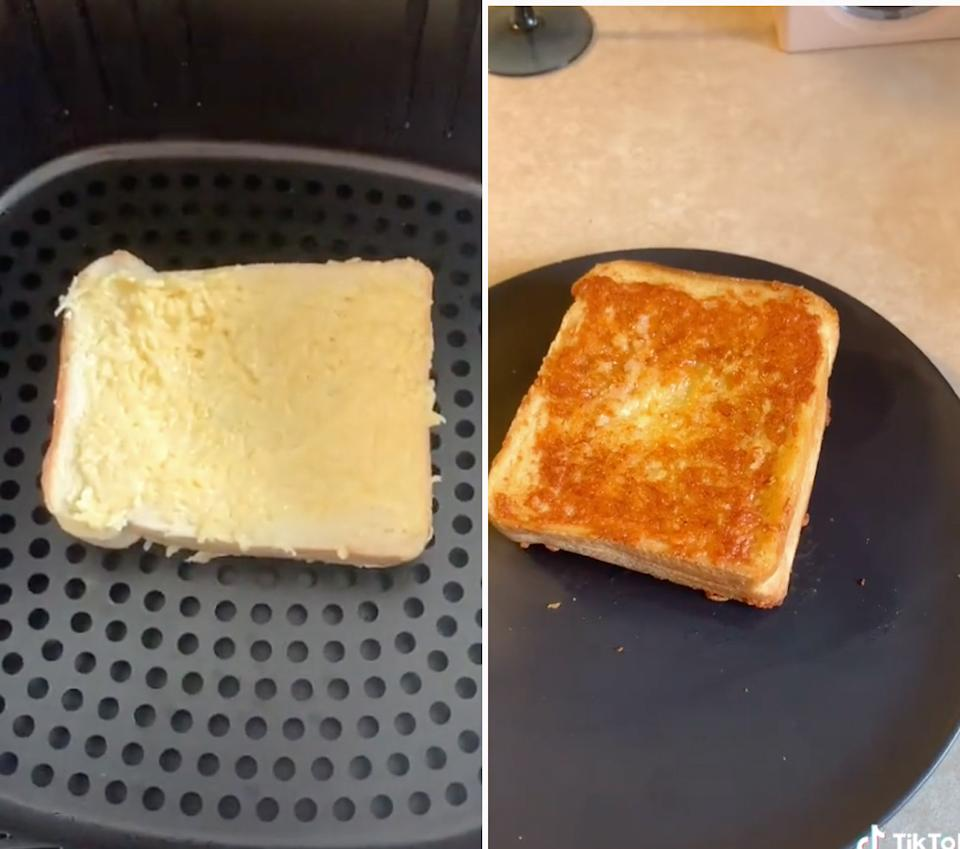 Sizzler cheese toast air fryer recipe