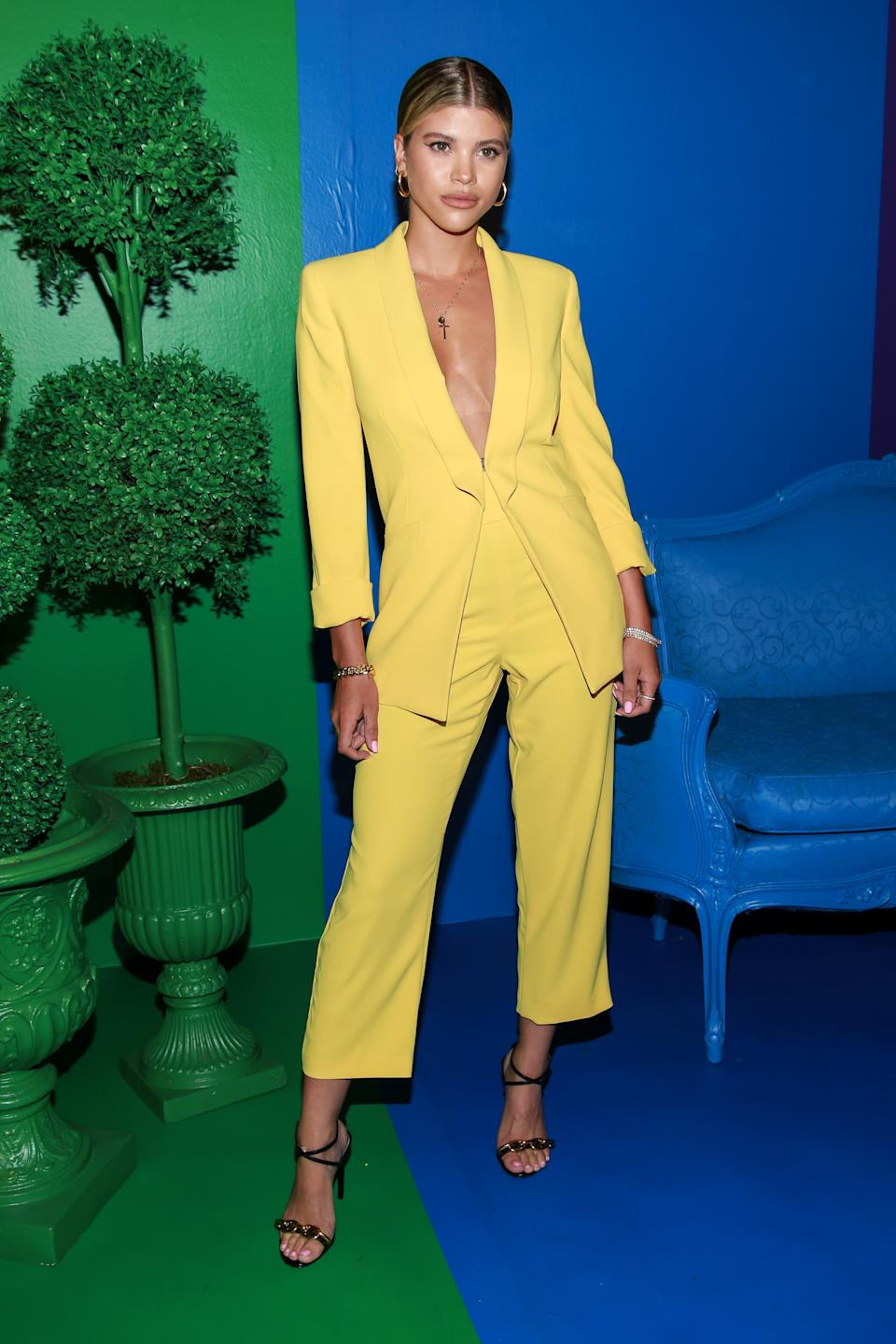 NEW YORK, NY - JUNE 18: Sofia Richie on June 19, 2019 in New York City. (Photo by Jason Mendez/Getty Images)