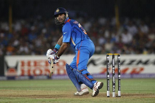 Yuvraj Singh's performance powered India to the World Cup triumph in 2011