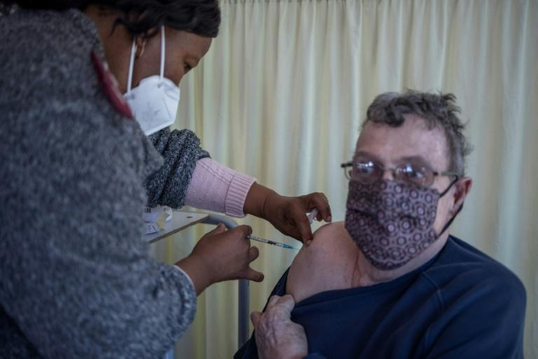South Africa's second vaccination phase kicked off on Monday, focusing on citizens over 60