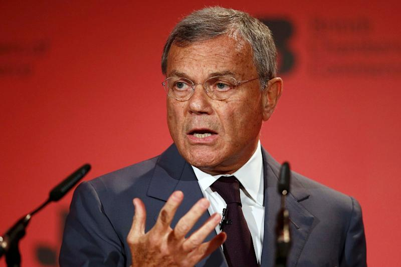WPP's Sir Martin Sorrell joins EasyJet boss Dame Carolyn McCall and HSBC UK chief Antonio Simoes on our panel: Peter Nicholls/Reuters
