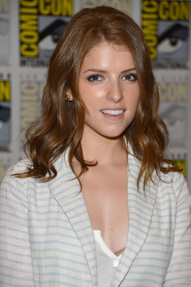 "SAN DIEGO, CA - JULY 13:  Anna Kendrick attends ""Paranorman"" during Comic-Con International 2012 held at the Hilton San Diego Bayfront Hotel on July 13, 2012 in San Diego, California.  (Photo by Frazer Harrison/Getty Images)"