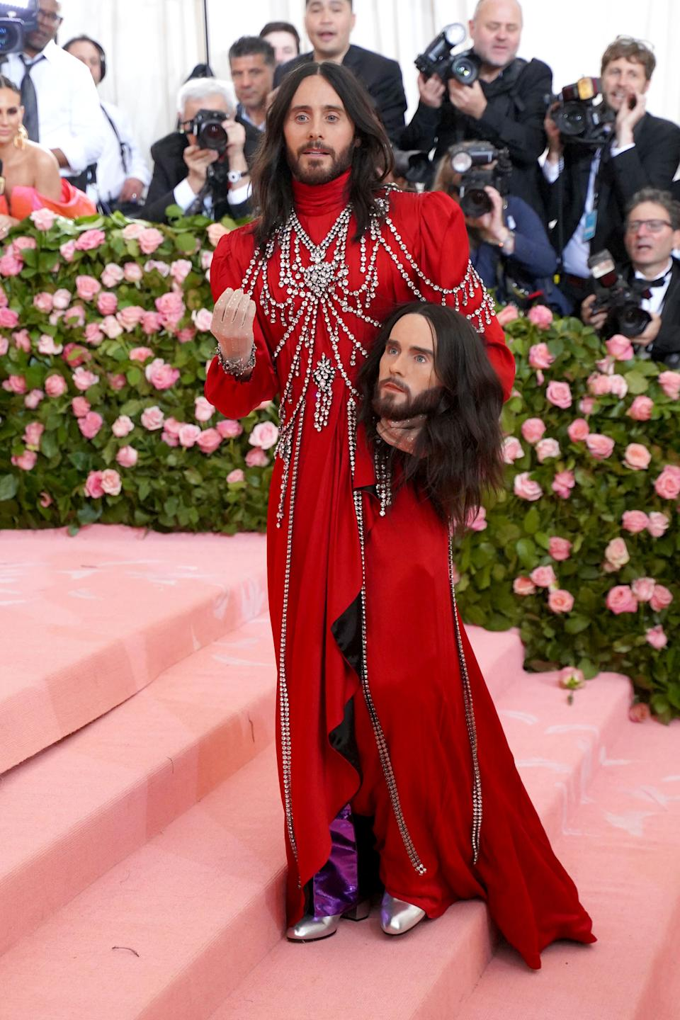 Jared Leto attends The Metropolitan Museum Of Art's 2019