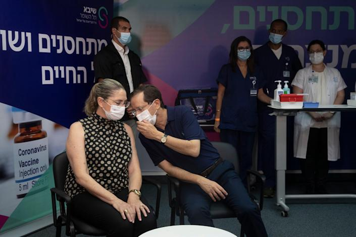 Virus Outbreak Israel Vaccinations (Copyright 2021 The Associated Press. All rights reserved)
