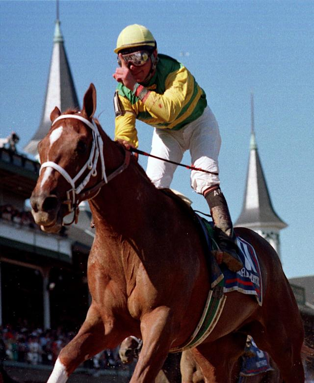 <p>Charismatic (1996-2017): Won the Kentucky Derby and Preakness Stakes in 1999. </p>