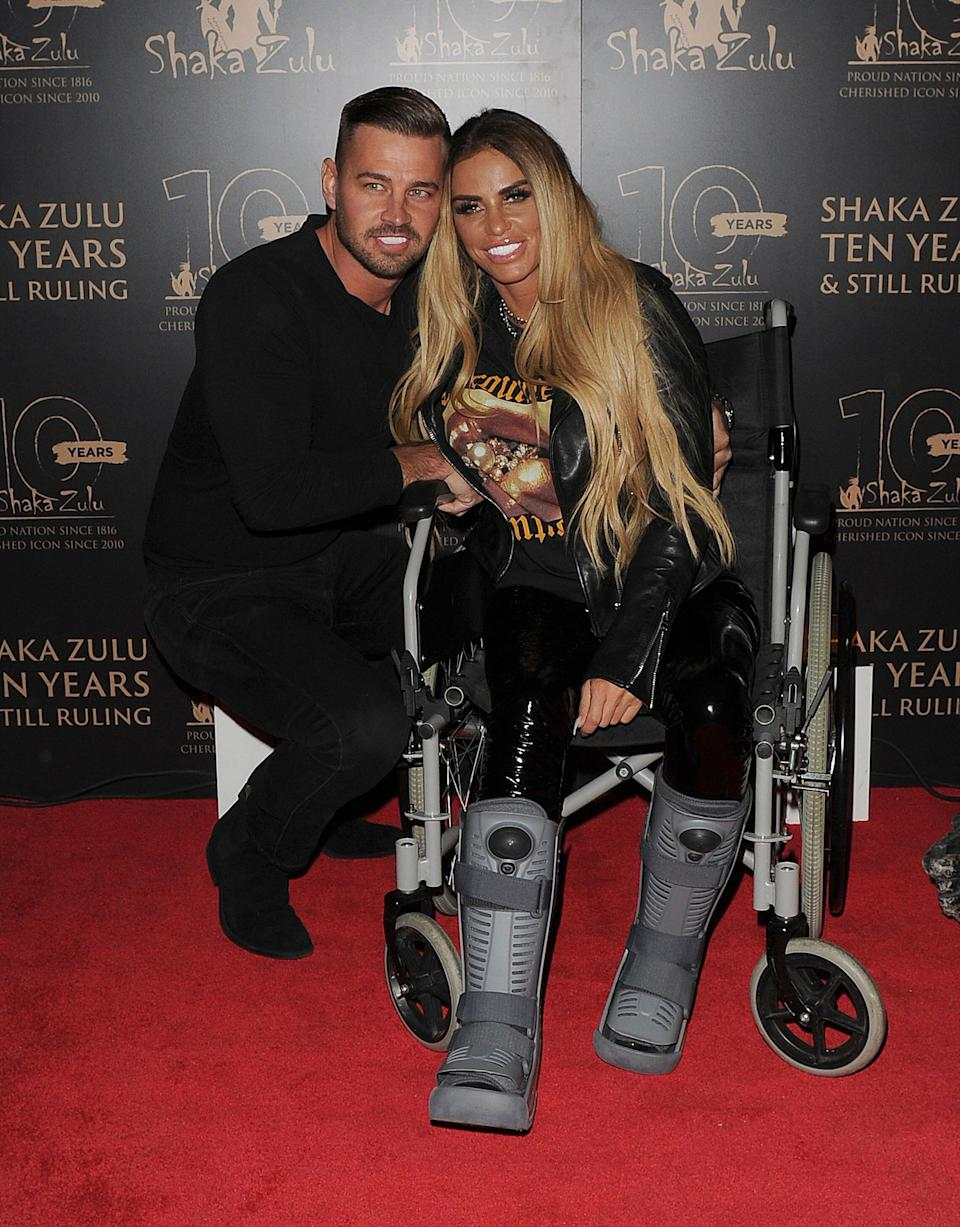Carl Woods and Katie Price pictured in September 2020 (Photo: zz/KGC-305/STAR MAX/IPx)