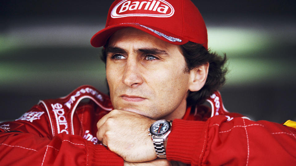 Alex Zanardi, pictured here in the Championship Auto Racing Teams in 1998.