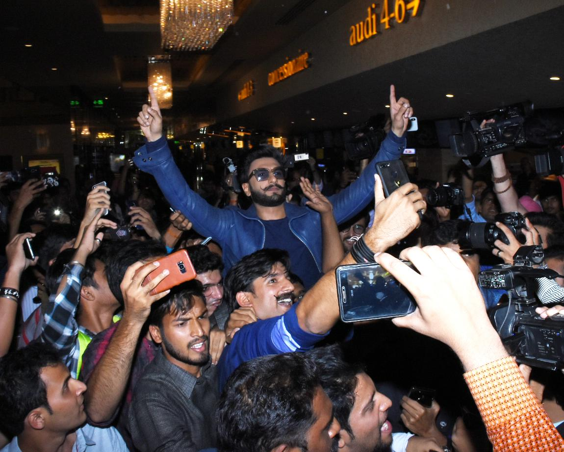 <p>Trailer launch of Simmba </p>