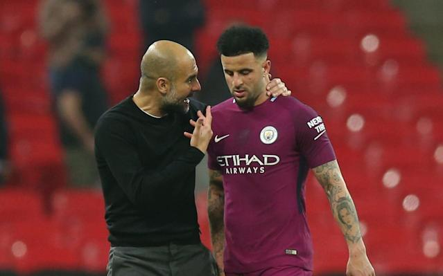 "Kyle Walker did not know Manchester City's victory over his former club Tottenham Hotspur would officially make him a Premier League champion when he left Wembley a vindicated man on Saturday night. City had beaten Spurs thanks to goals from Gabriel Jesus, Ilkay Gundogan and Raheem Sterling, but the party was on ice until Manchester United had suffered a shock defeat to West Bromwich Albion less than 24 hours later. Walker was well aware, however, that he had one hand on the trophy, and a Carabao Cup winners' medal already stashed away, when he described the grass as greener at City. He has got exactly what he wanted, but Walker was not in the mood to gloat. He left Tottenham's temporary home clutching the shirt of his old team-mate Kieran Trippier and stressed how much he wants Spurs to beat Manchester United in next week's FA Cup semi-final, and go on to win the trophy. The 27-year-old believes the current Tottenham squad ""deserve"" to win silverware and insisted he and Mauricio Pochettio still respect each other – even though there remains a clear difference of opinion over the details of his exit. Walker left Tottenham in the summer after eight years there Credit: PA Refusing to take anything for granted ahead of United's result, Walker said: ""We won the Carabao Cup, and that was a step in the right direction for me, but to be competing in the Premier League since I was 19 and to play all the games I played to not win the Premier League was a bit devastating. So to come here, and it's in touching distance now in my first season, it's fantastic for me. ""You always ask is the grass greener on the other side, and it looks it this way. We need to continue. We can't just stop at one Premier League title if we go on and do that. It needs to be a number of years before we can be regarded as one of the top teams ever to have played in the league. We have the youth in the squad, and the hunger to go on and do big things."" Pochettino revealed in his book, Brave New World, that Walker was late for an important team meeting and gave his account of why the former Sheffield United youngster left after losing his place to Trippier. Walker is loving life at City Credit: Reuters The Argentine wrote: ""Walker came to my office after the Watford game. 'Gaffer, I've been at Tottenham for eight years. I've thought about it and my heart isn't here any more, nor is my head. I've given all I have to give.'"" Pochettino said he replied, 'Kyle, you have to stay professional. There's a month and a half to go. We're battling for the Premier League and FA Cup. We have to be focused and finish the campaign strongly.' Walker's alleged response was, 'OK, gaffer, but it's already decided'. The key men on Pep Guardiola's backroom staff 